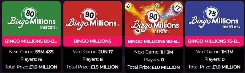 Viking Bingo Bingo Millions