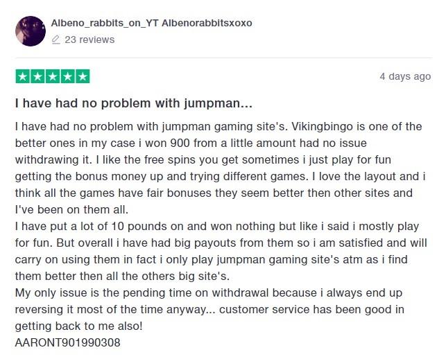 Viking Bingo Player Review 5
