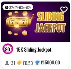 WOW Bingo Sliding Jackpot
