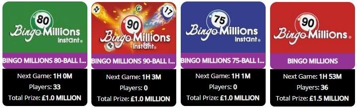 WTG Bingo Bingo Millions