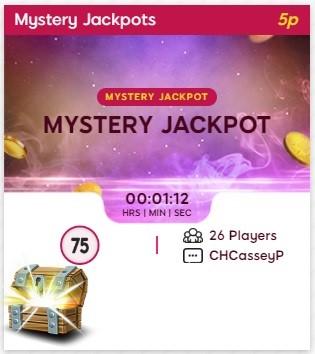 We Want Bingo Mystery Jackpot