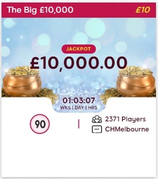 We Want Bingo The Big £10,000