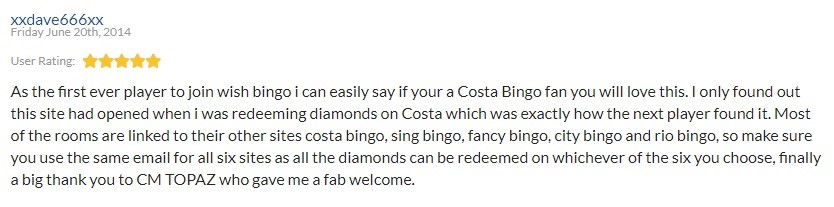 Wish Bingo Player Review 4