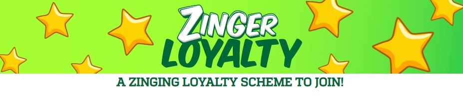 Zinger Bingo Loyalty Program
