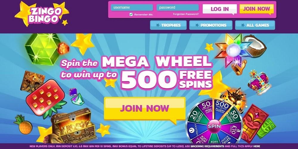 Zingo Bingo Website