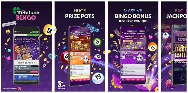 mFortune Bingo Mobile App