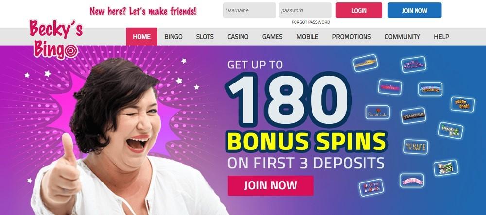 Becky's Bingo Website