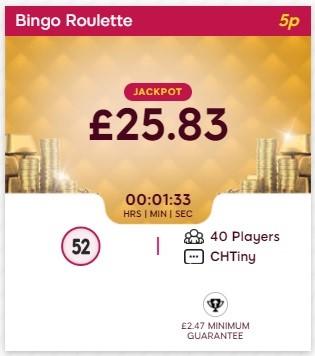 Bingo And Beyond Bingo Roulette