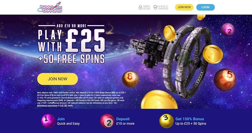 Bingo And Beyond Website