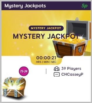 Bingo Ballroom Mystery Jackpots