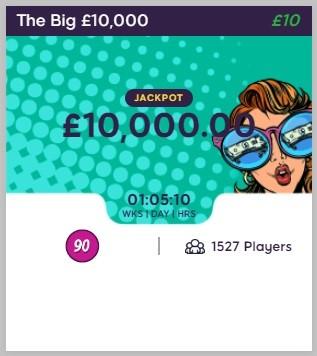 Bingo Ballroom The Big £10,000