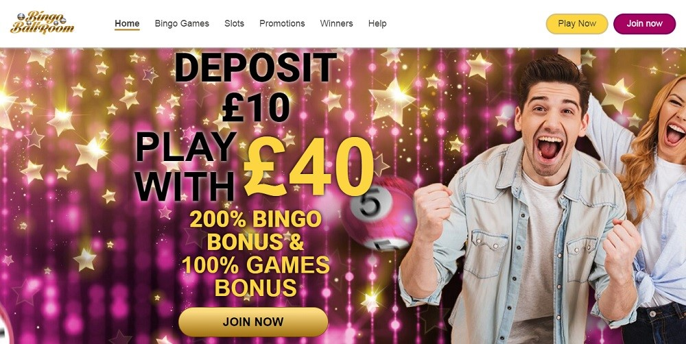 Bingo Ballroom Website