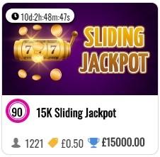 Bingo Magix Sliding Jackpot