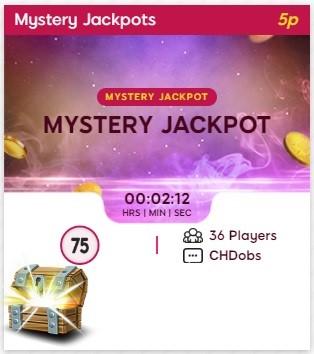 Bingo Me Happy Mystery Jackpot
