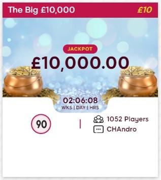 Brown Cow Bingo The Big £10,000