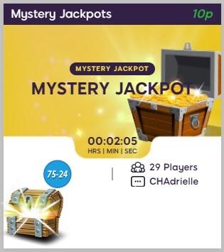 Celeb Bingo Mystery Jackpot