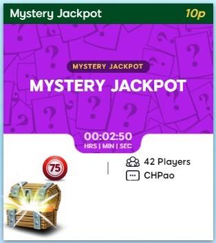 Giant Bingo Mystery Jackpot