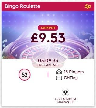 Glorious Bingo Bingo Roulette