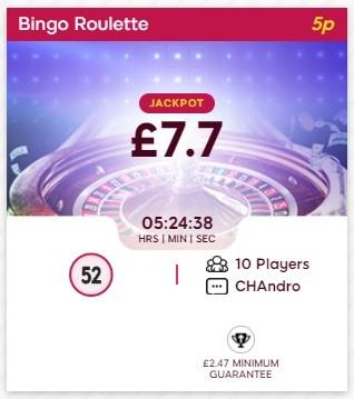 Nova Bingo Bingo Roulette