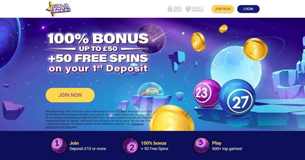 Nova Bingo Website