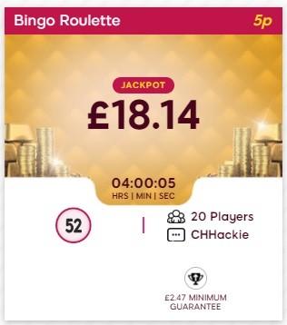 Once Upon a Bingo Bingo Roulette
