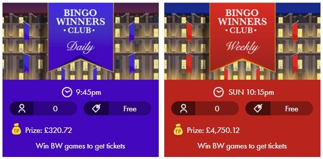 Smooth Bingo Bingo Winners Club