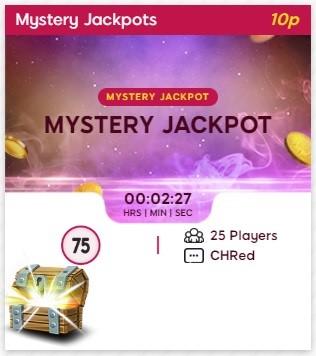Sparkling Bingo Mystery Jackpot