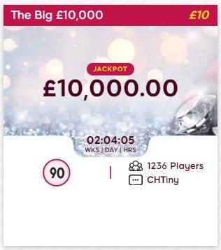 Sparkling Bingo The Big £10,000