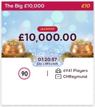 Spectra Bingo £10,000