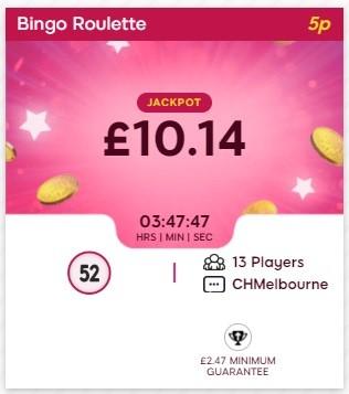 Stash Bingo Bingo Roulette