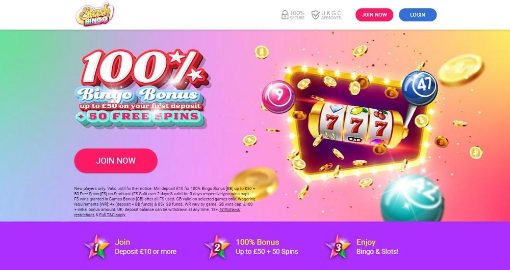 Stash Bingo Website