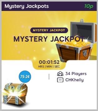 Sweet Shop Bingo Mystery Jackpots
