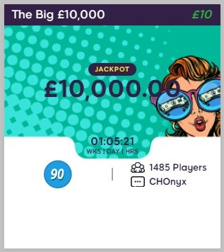 Sweet Shop Bingo The Big £10,000