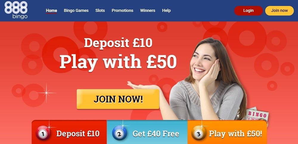 888 Bingo Website