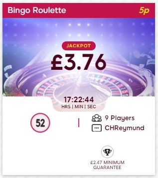 Bingo 3X Bingo Roulette