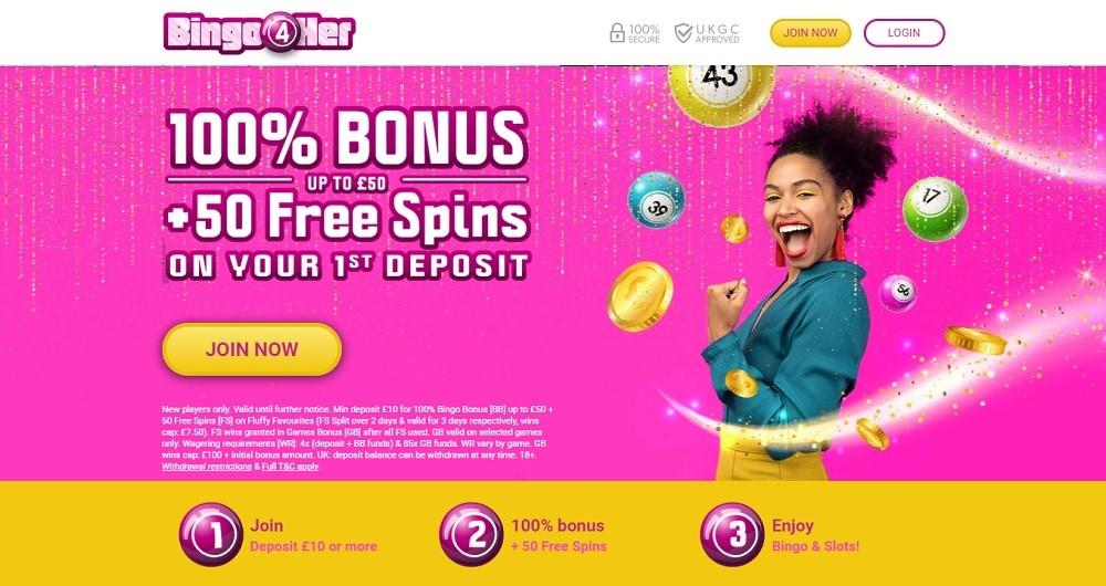 Bingo 4 Her Website