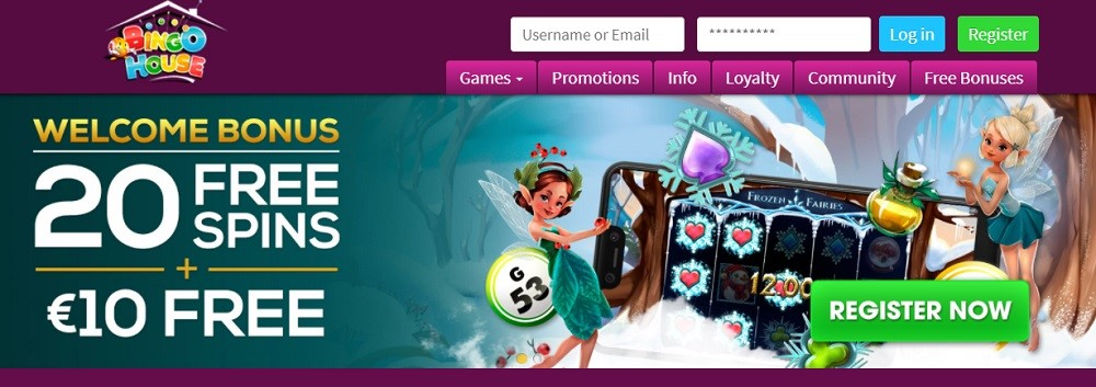 Bingo House Website