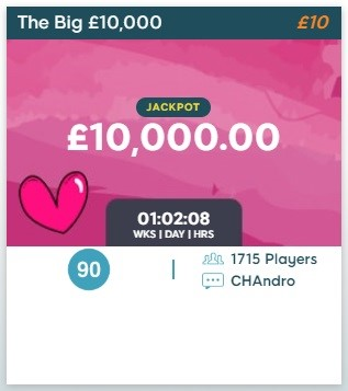 Bingo52 The Big 10k