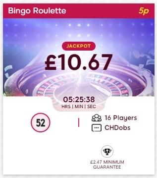 Bingolicious Bingo Roulette