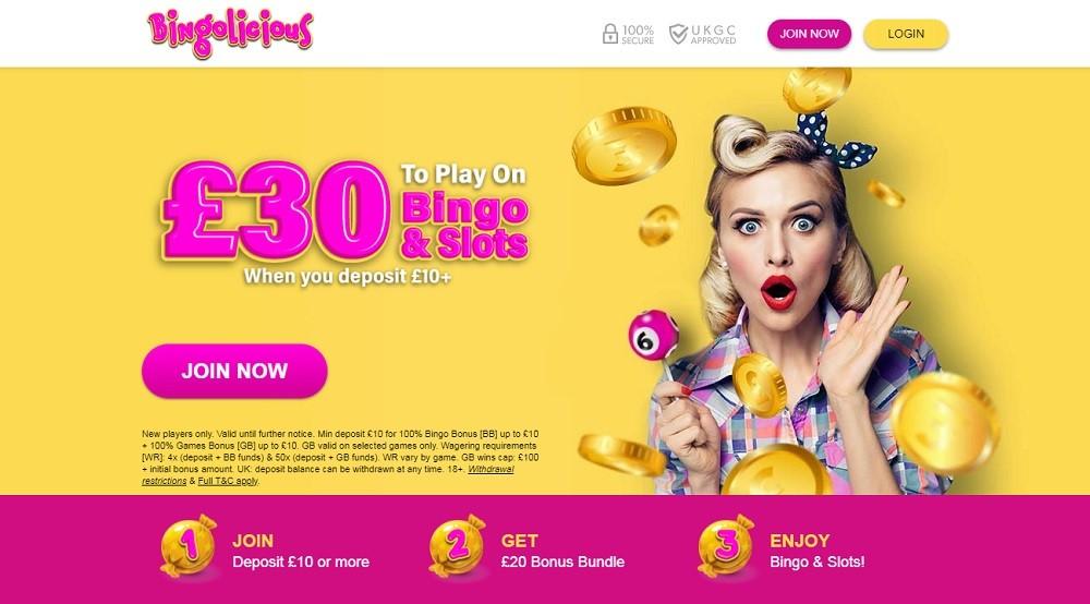 Bingolicious Website