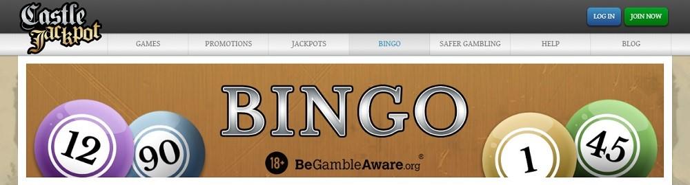 Castle Jackpot Bingo Website