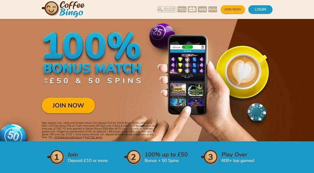 Coffee Bingo Website