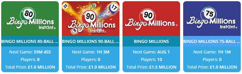 Flog It Bingo Bingo Millions