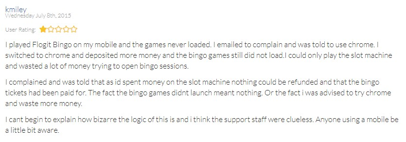 Flog It Bingo Player Review 2