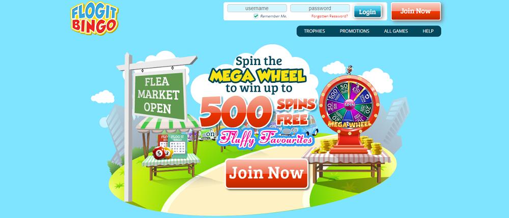 Flog It Bingo Website