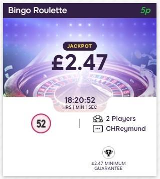 Golden Pound Bingo Bingo Roulette