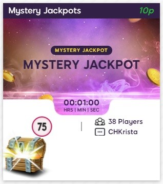 Golden Pound Bingo Mystery Jackpots