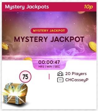 High Heel Bingo Mystery Jackpot