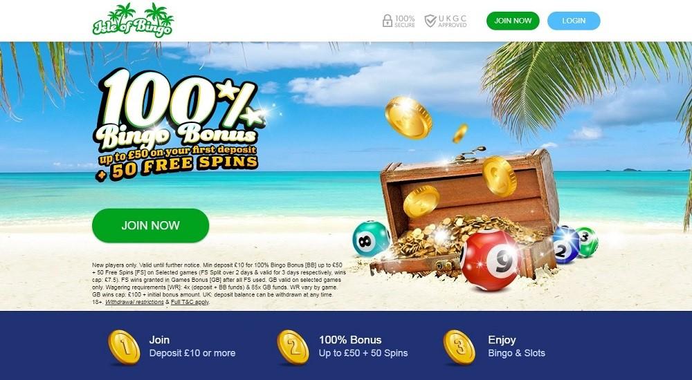 Isle of Bingo Website