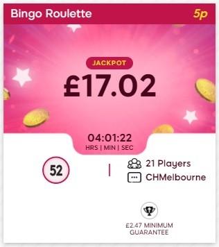 Satin Bingo Bingo Roulette
